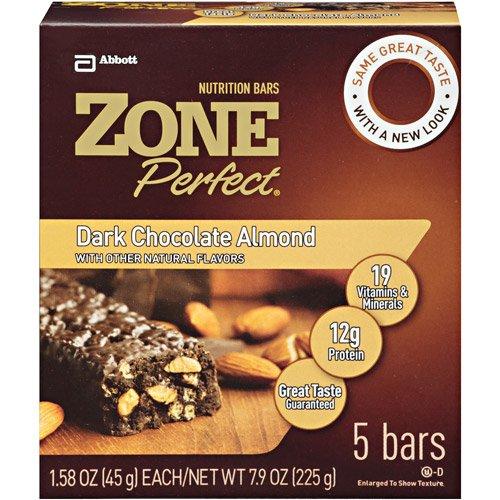 zone dark chocolate almond - 5