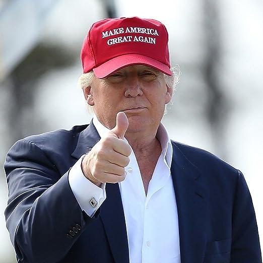 Donald Trump Make America Great Again Maga cappello Elezioni 2017   Amazon.it  Sport e tempo libero 5423311b0043