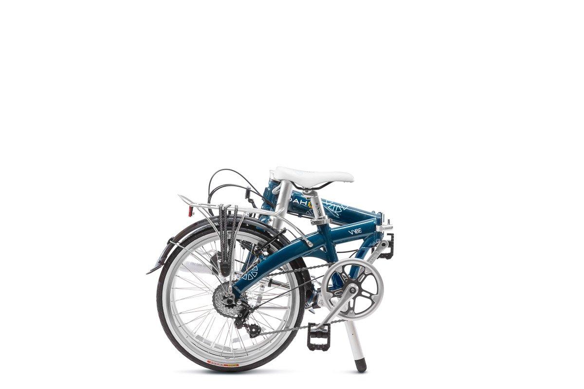 Dahon Vybe C7A - Bicicleta plegable de 20 pulgadas, color azul marino: Amazon.es: Deportes y aire libre