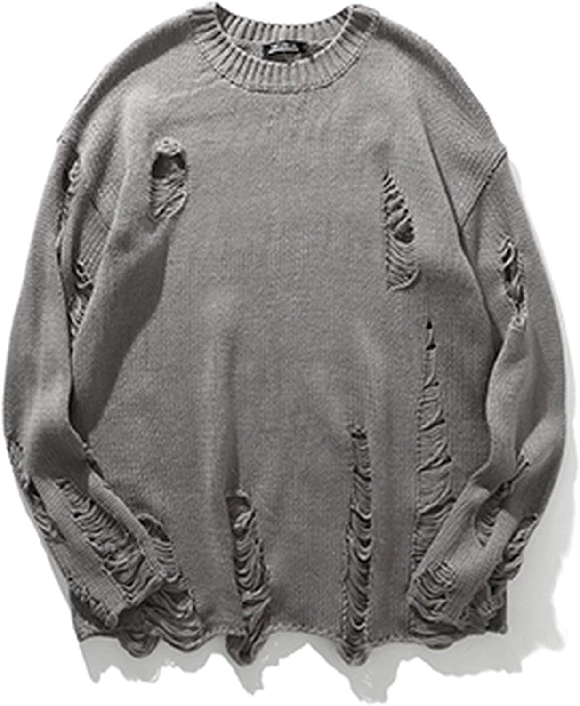 In Fall Sweaters Knitted Outwear Novelly Oversized Autumn Warm Knitwear Striped