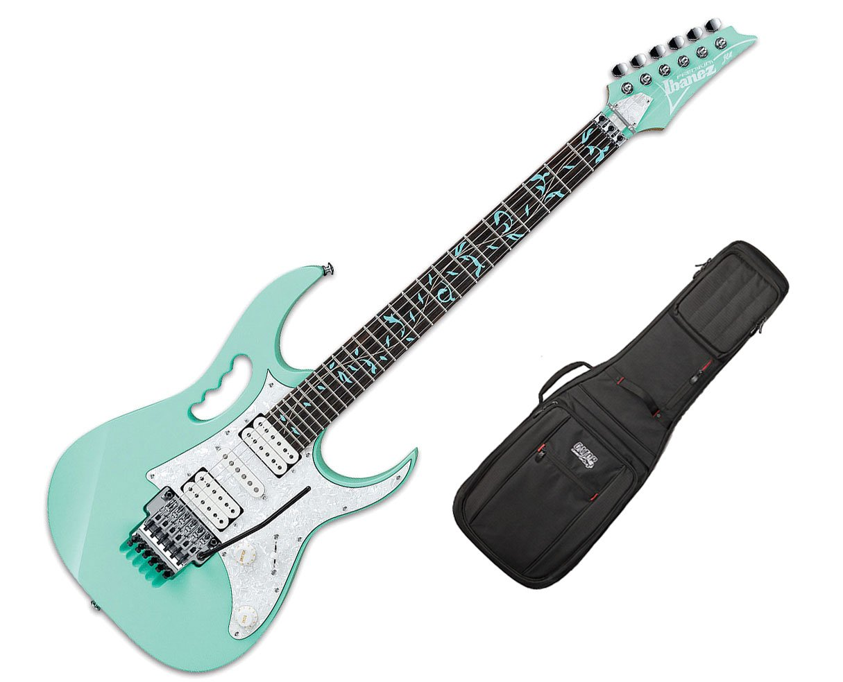 Ibanez jem70 V Steve Vai - Espuma Del Mar Verde w/Pro Serie Gig Bag: Amazon.es: Instrumentos musicales