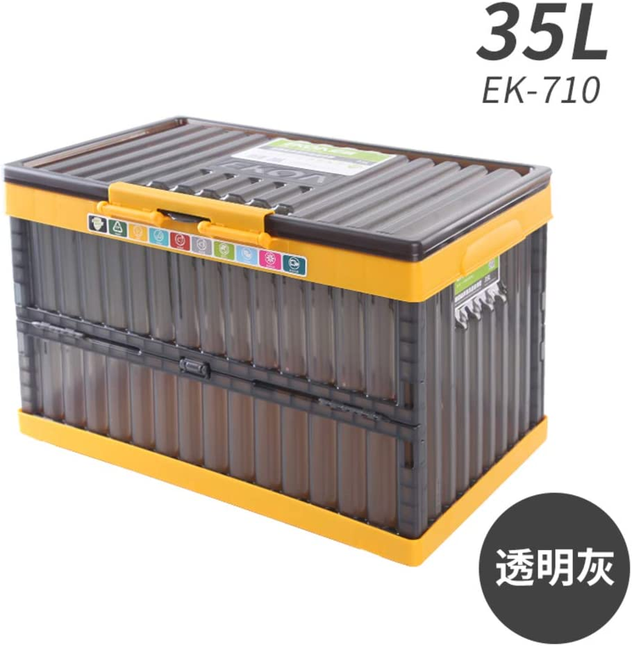 Softneco Caja de almacenaje Plegable Coche Tronco Organizador ...