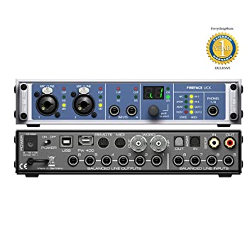 RME Fireface UCX Audio Interface Windows 8 X64