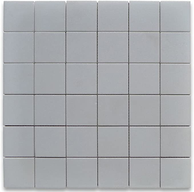 Stone Center Online Thassos White Marble 2x2 Square Mosaic Tile Honed For Kitchen Backsplash Bathroom Flooring Shower Surround Dining Room Entryway Corrido Spa 1 Sheet