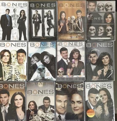 Bones Season 1-12 Bundle Complete Series