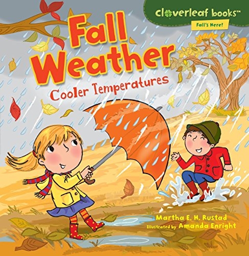 Leaves Teaching Chart - Fall Weather: Cooler Temperatures (Cloverleaf Books: Fall's Here!)