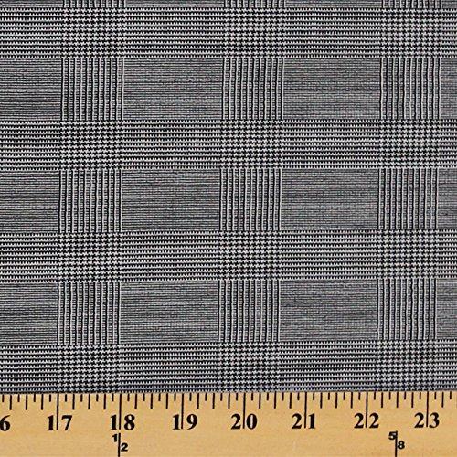 Glen Plaid Fabric (Glen Plaid Wool Fabric by the Yard (9608F-11M))