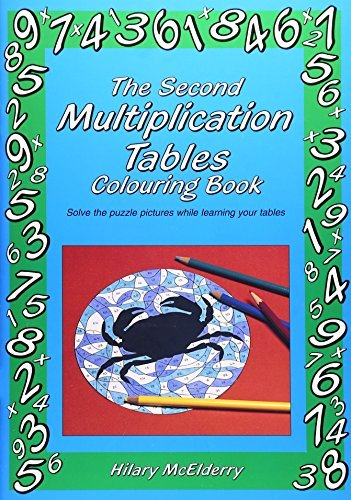 (The Second Multiplication Tables Colouring Book: Solve the Puzzle Pictures While Learning Your Tables by Hilary McElderry (1999-12-01) )