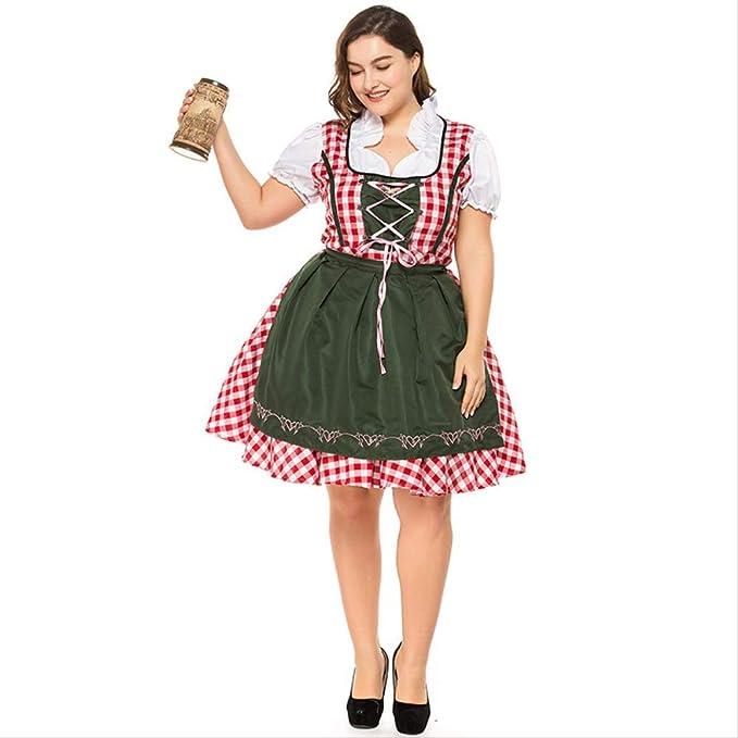 HG-amaon Vestido de Hombre Gordo del Oktoberfest alemán ...