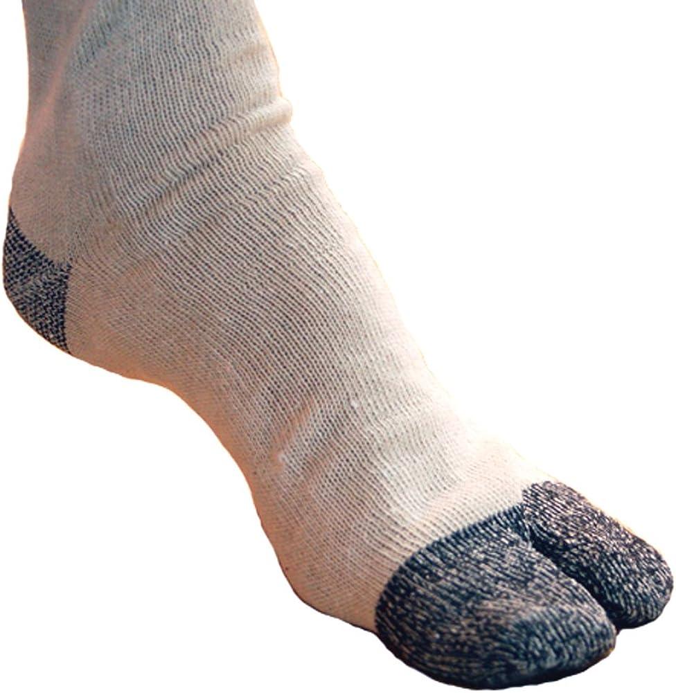 Japanese Tabi Ninja Socks- 6 Pairs (Size Us: 9 - 11)