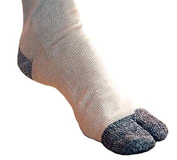 Tabi japonés calcetines calcetines calcetines gris Taiko 24 - 27 cm, 3 par...: Amazon.es: Deportes y aire libre