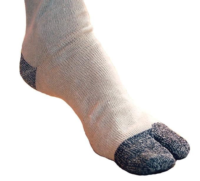Amazon.com: Ninja Martial Art Tabi Shoes Socks 1 Pairs (Size ...