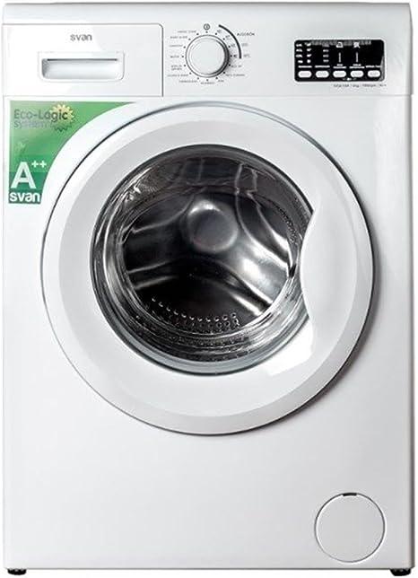 Svan lavadora carga frontal svl610 6kg a++ 1000rpm: 211.75: Amazon ...