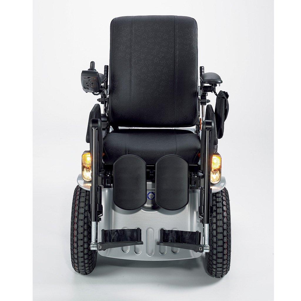Invacare G50 eléctrico de silla, rango de la Silla Eléctrica para uso exterior e interior, hasta 150 kg, 6 km/h Plata, incluye entrega/einweisung/montaje in ...