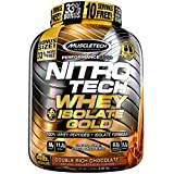Cheap MuscleTech NitroTech Whey Plus Isolate Gold, Double Rich Chocolate, 4 Pound