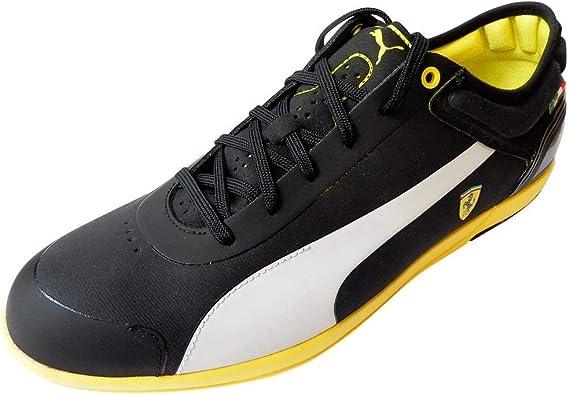 yellow puma shoes ferrari