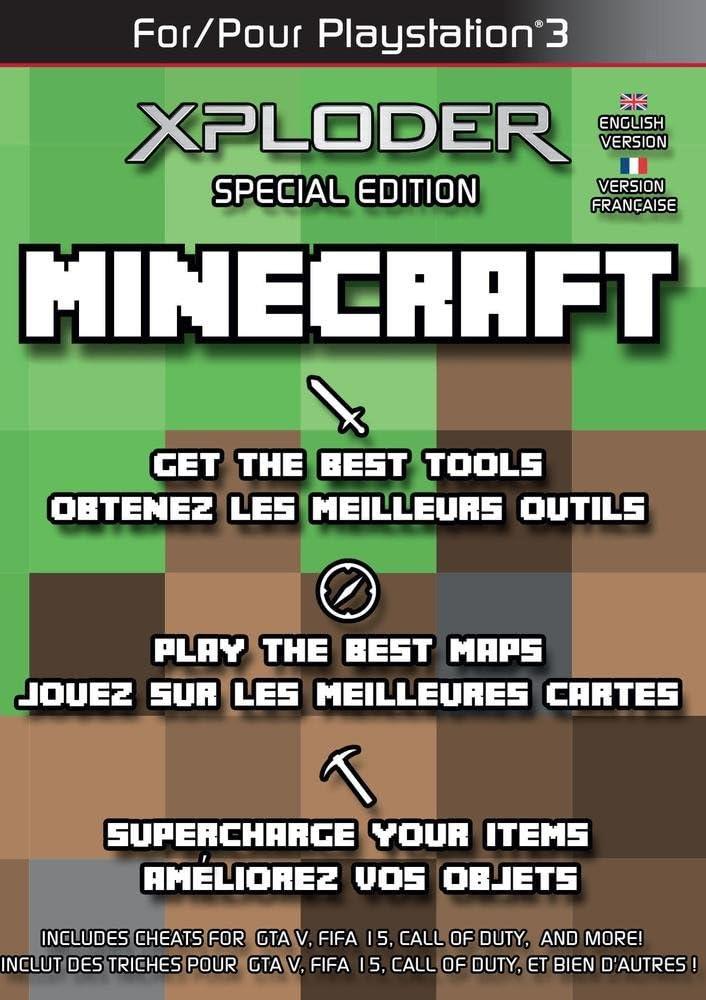 Xploder Special Edition For Minecraft (PS3/PC DVD) [Importación Inglesa]: Amazon.es: Videojuegos