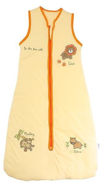 Saco de dormir para bebé de verano 0,5 tog-zoo-disponible en 4 medidas 90 cm: Amazon.es: Bebé