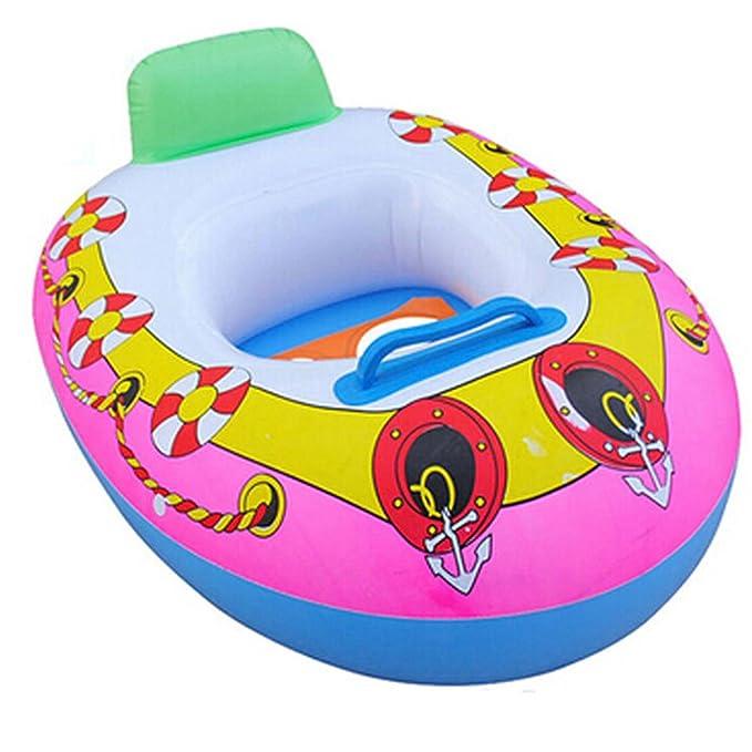 UxradG Asiento hinchable para piscina, para niños, piscina, ayuda, entrenamiento, playa, flotador: Amazon.es: Deportes y aire libre