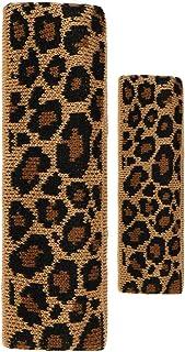 Amorar Fascia per Capelli in Maglia per Capelli Fascia per Capelli in Lana Turbante Leopard Hairpin Headwrap Sport Yoga Fasce per Capelli Accessori per Capelli Copricapo