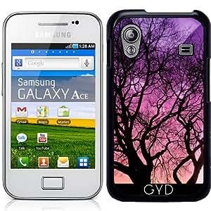 Funda para Samsung Galaxy Ace (GT-S5830) - Fantasía Gato Detrás Del árbol by Djuranne