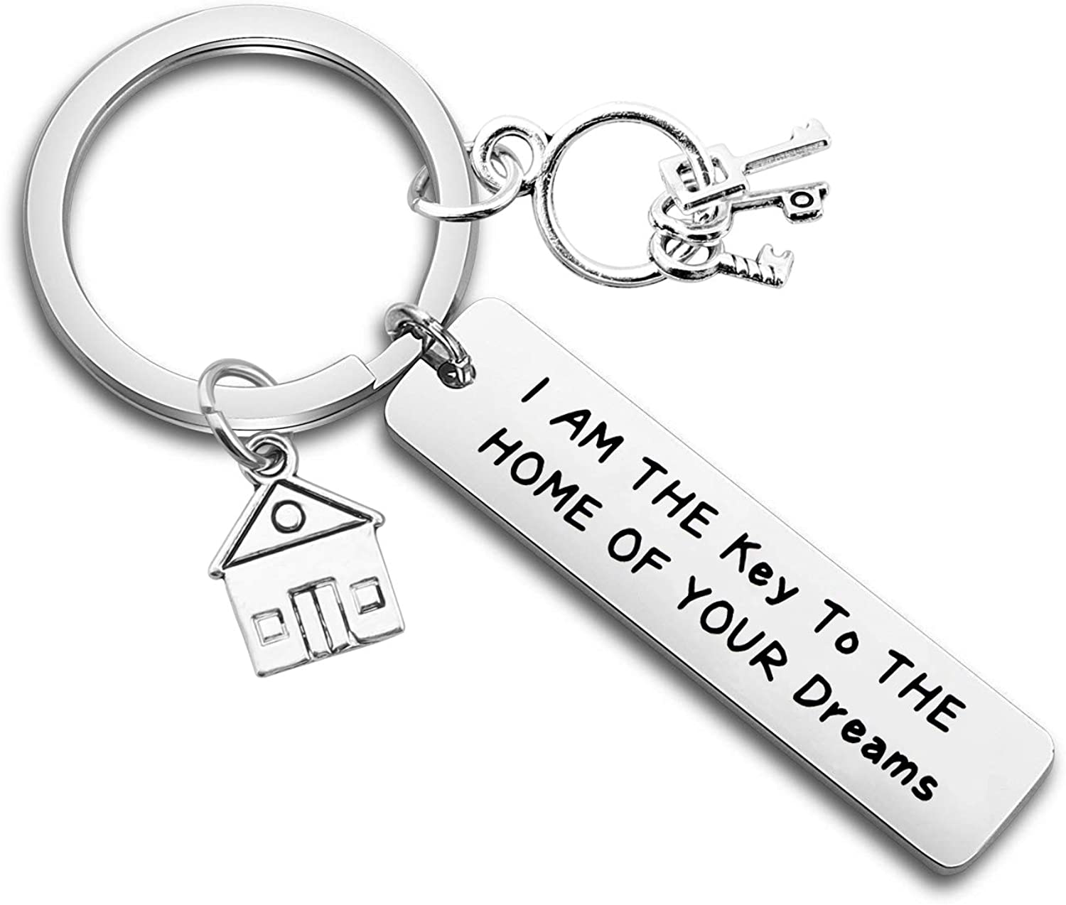 ENSIANTH Funny Realtor Gift I Am The Key to The Home of Your Dreams Gift for Real Estate Agent Real Estate,Salesman Gift