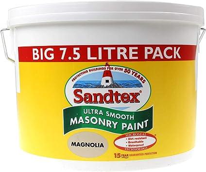 Sandtex Ultra Smooth Masonry Paint - Best For Pliolite Acrylic Resin