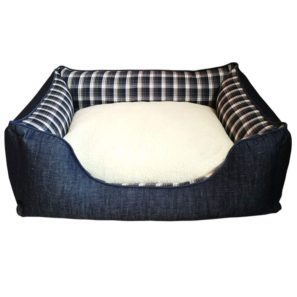 GCHOME Dog bed Dog Bed,Washable Removable Cat Bed Cat Nest Dog Sofa,Waterproof Breathable Non-slip Warm Cushion Sleeping Bag Indoor Large Pet Nest