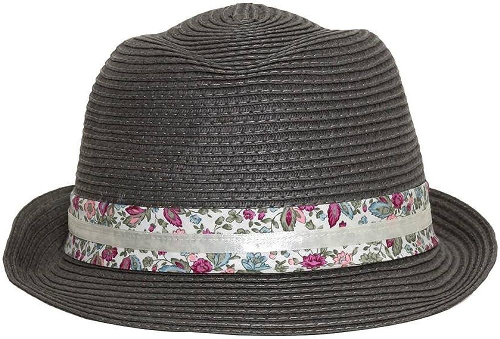 DY Soft Petal Fedora Hat