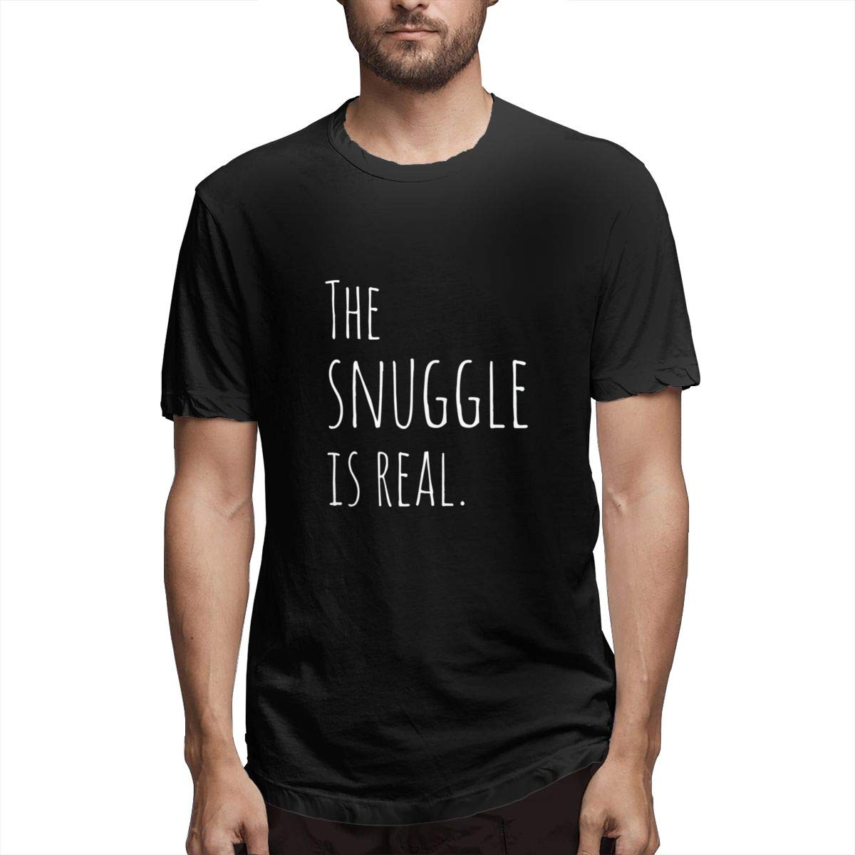 Seuriamin The Snuggle Is Real Funny S T Shirt
