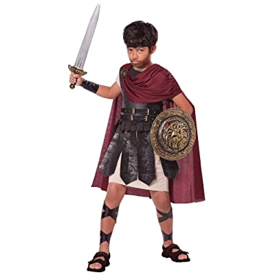 California Costumes Spartan Warrior Costume, One Color, 12-14: Toys & Games