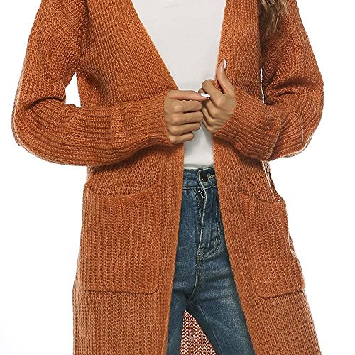 SMALLE ◕‿◕ Clearance, Women Autumn Long Sleeve Open Cape Casual Coat Blouse Kimono Jacket Cardigan by SMALLE (Image #5)