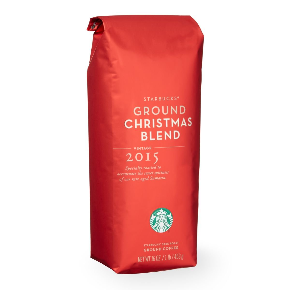 Amazon.com : 2016 Starbucks Christmas Blend Whole Bean Coffee - 1 ...