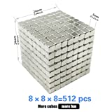 Magnetic Cube 512 PCS Magnet Sculpture Stress