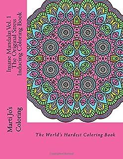 Insane Mandalas The Worlds Hardest Coloring Book