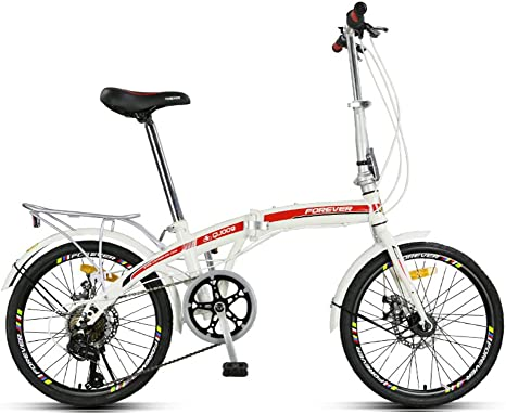 YEARLY Bicicleta Plegable Mujer, Adultos Bicicleta Plegable ...
