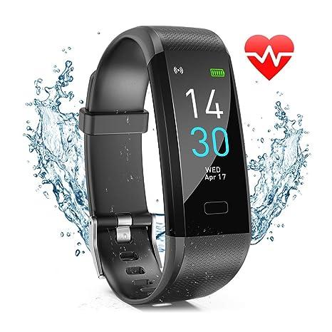 Amazon.com: Fitness Tracker HR, reloj de actividad con ...