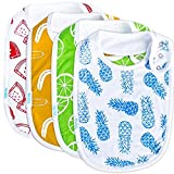 Baby Bib Large Toddler Burpy Absorbent Feeding
