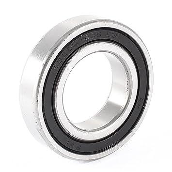 sourcingmap® Rodamiento de bolas de rueda 6006RS de 30mm x ...