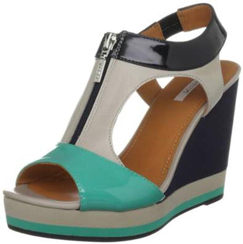 cdb296ad74 Geox Women's Donna Janira C Fashion Sandals multicolour Lt Grey/Navy ...