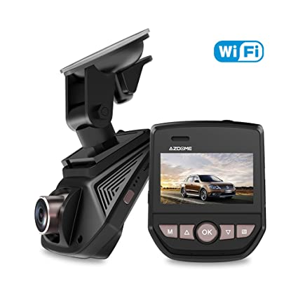 Amazon Com Car Dash Cam Azdome Full Hd 1080p 6 Lane 170 Wide