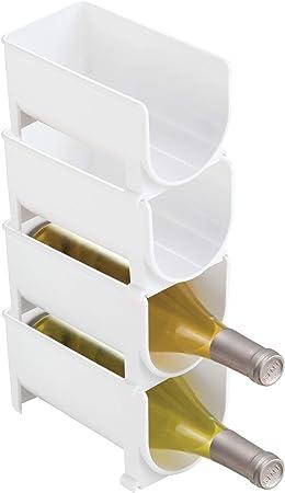 USO UNIVERSAL: este soporte para botellas puede colocarse en el refrigerador para sus bebidas, y tam