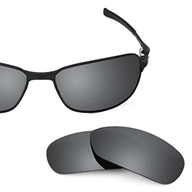 7b5f152cf7 Revant Polarized Replacement Lenses for Oakley C Wire (2011) Black Chrome  MirrorShield