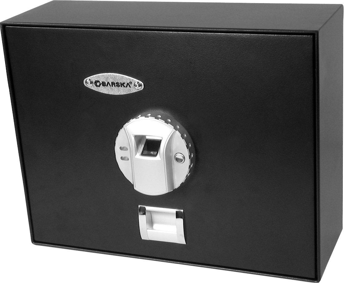 amazoncom barska top opening biometric fingerprint safe gun safes sports u0026 outdoors