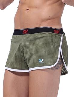 c8f01d6a32 Amazon.com  Omkuwl Men S Swimwear Summer Style Trunks Beach Swimming ...