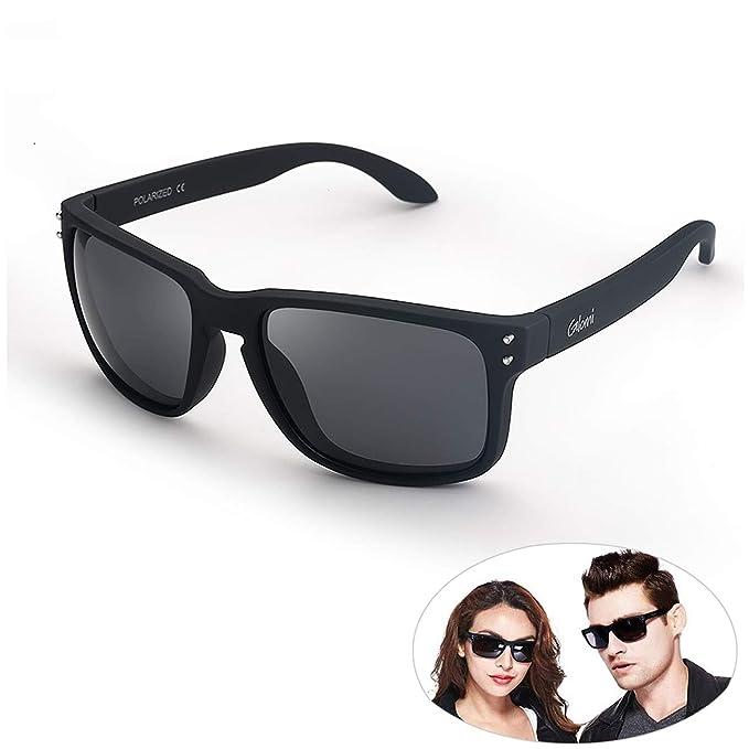 Glomi Gafas de sol Polarizadas Hombres y Mujeres, 100% Protección UV, Antideslumbrante,