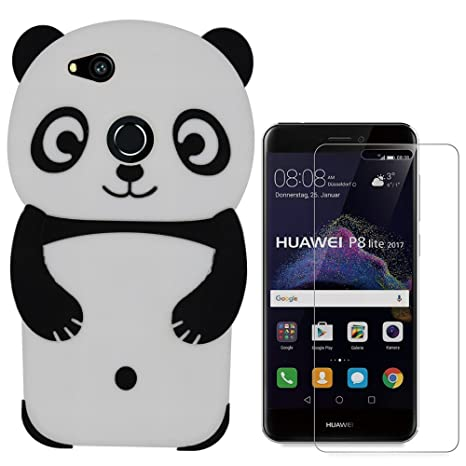custodia huawei p8 lite 2017 panda
