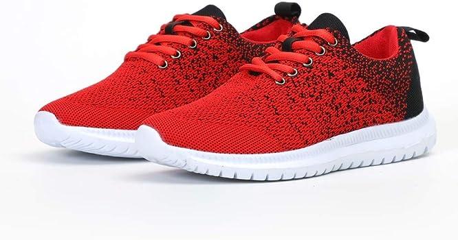 Luckycat Zapatillas de Deportivos de Running para Mujer Gimnasia Ligero Sneakers Azul Rosa 35-43 Zapatillas Deportivas de Mujer Running Zapatos para Correr Gimnasio Calzado: Amazon.es: Relojes