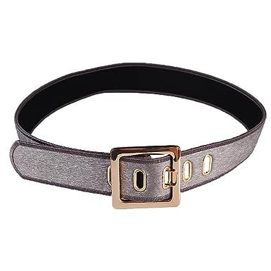 B Baosity Cinta Cinturón de Cintura con Hebilla para Mini Falda ...