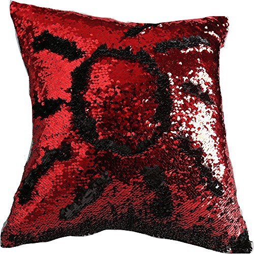 red and black pillows - 4